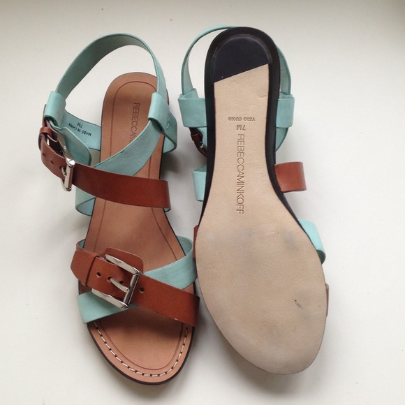 Rebecca Minkoff Shoes - *2x Host Pick* Leather & Suede Sandals 4