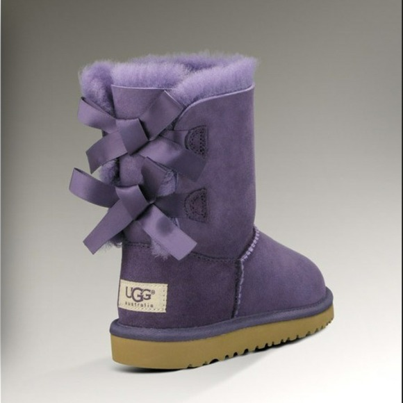 3a08820ff96 UGG Bailey Bow Boots PURPLE VELVET