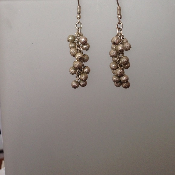 Delicate 925 Silver Ball Dangle Earrings Os From Irene S