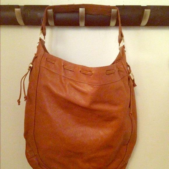 87% off Foley   Corinna Handbags - Foley   Corinna cognac Hobo bag ...