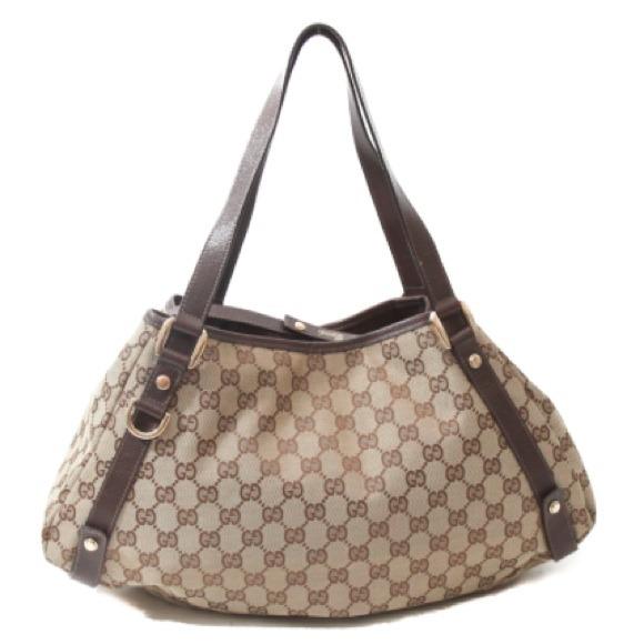31f146dce91f Gucci Bags | Gg Logo Abbey Tote Bag | Poshmark