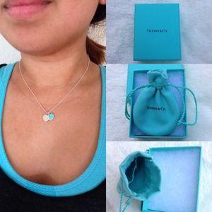 Tiffany & Co. Jewelry | In Box Authentic Tiffany Double ...