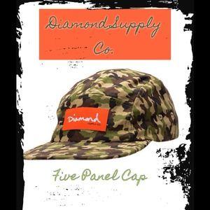 Diamond Supply Co. Accessories - 🆕Diamond Supply Co. Camo Cap