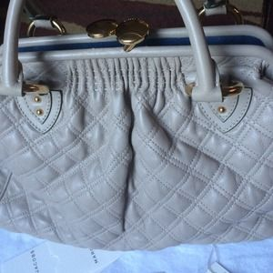  FLASH SALE $495 !!! Marc Jacobs Quilted Stam