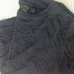 Paul & Shark Tops - Paul & Shark 100% silk vintage black t shirt