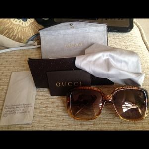 Gucci Sunglasses. Worn once