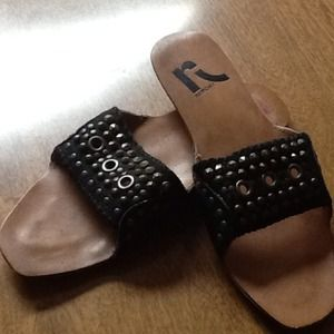 Report Sandals Black