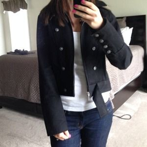 Kenneth Cole Black Denim Jacket