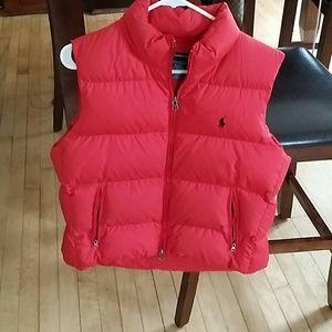 Ralph Lauren polo vest size m