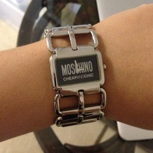 Authentic Moschino watch