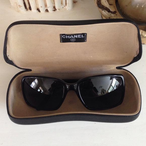 d87d912f31 CHANEL Accessories - Chanel 5030 Black Sunglasses