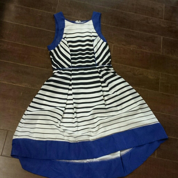 Dresses & Skirts - Blue with stripes nautical dress