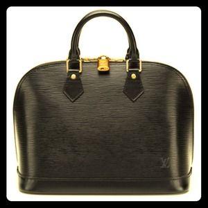 Authentic Epi Alma Louis Vuitton