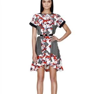 *final price* Peter Pilotto red belted dress NWT