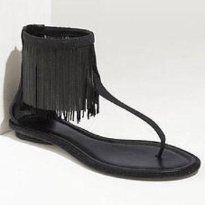 B Brian Atwood Shoes - B Brian Atwood Casanova Black Sandals 40/10 NWT