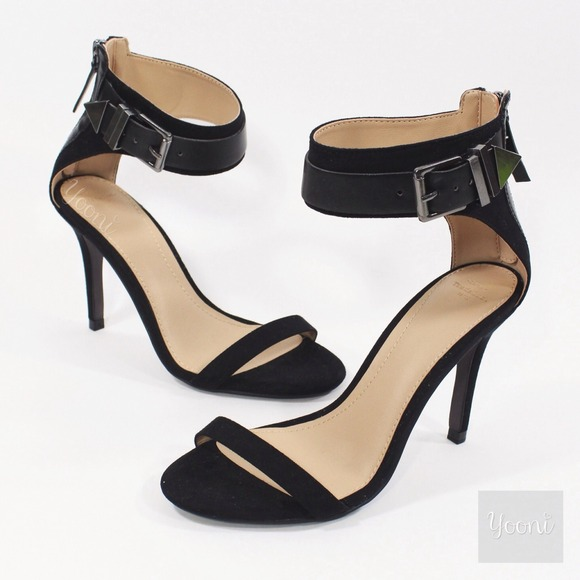Zara Shoes | Zara Ankle Strap Heels In