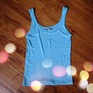 Lucky Brand Tops - Light Blue Lucky Brand Tank Top