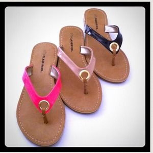 Shoes - • Glossy FlipFlops •