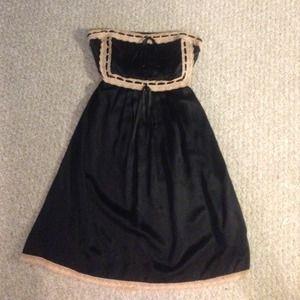 Betsy Johnson strapless slip dress