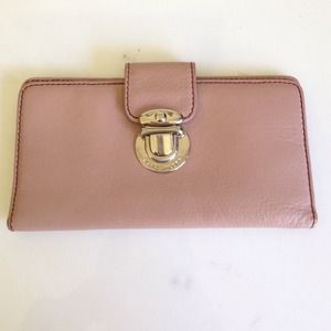 Marc Jacobs Light Pink Wallet