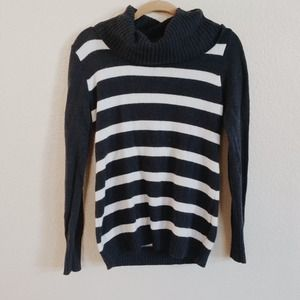 GAP Sweaters - Gap Cowl Neck Striped Sweater