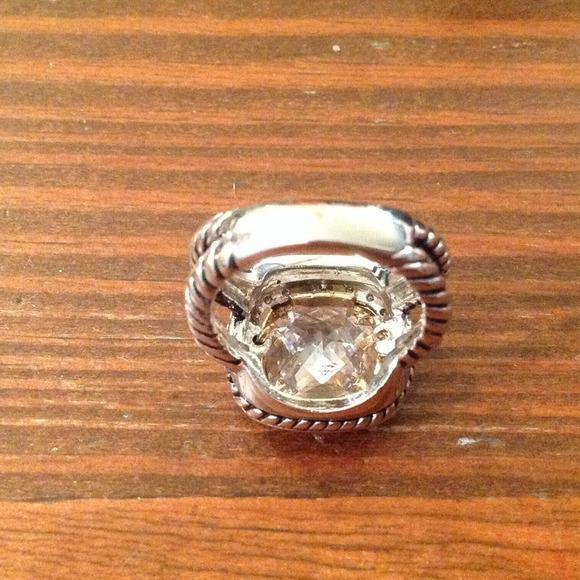 56 Off Jewelry Replica David Yurman Large Albion Ring