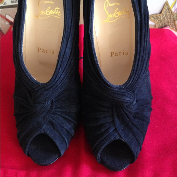used christian louboutin shoes