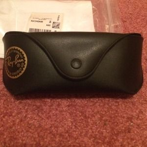 NWT, Authentic Ray-Ban Sunglasses case