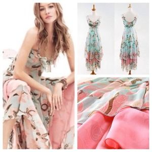 """Dresses & Skirts - 💖HP """"Essential Style"""" 6/22💖 Blue Maxi Dress"""