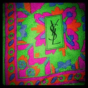 Vintage YSL scarf / Wrap