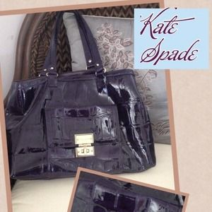 host pickNWOT purple Kate Spade satchel