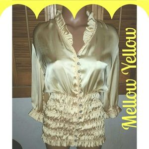 Tops - SOLD! Vintage Style Yellow long sleeve top