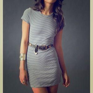 Dresses & Skirts - Brand new Stripped tee shirt