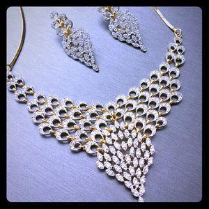 Jewelry - Gorgeous bridal cubic zirconia set