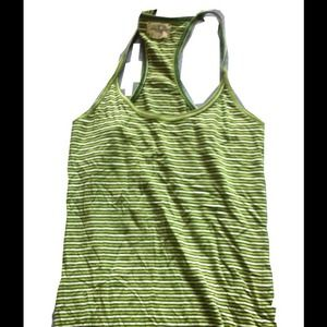 Green striped American Eagle Outfitters tank top
