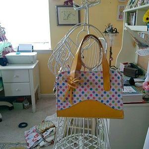Handbags - ⭐️SALE⭐️Mini polka dot purse