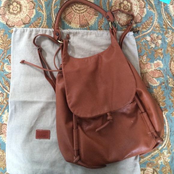 33% off Iyiami Handbags - Handmade Leather Backpack by Iyiami ...