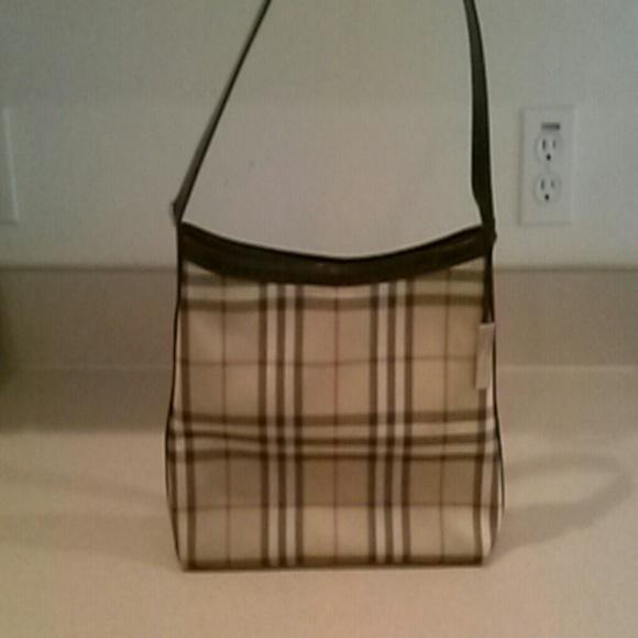 Burberry Handbags - Original Classic Burberry authentic handbag. b5b14f178abcf
