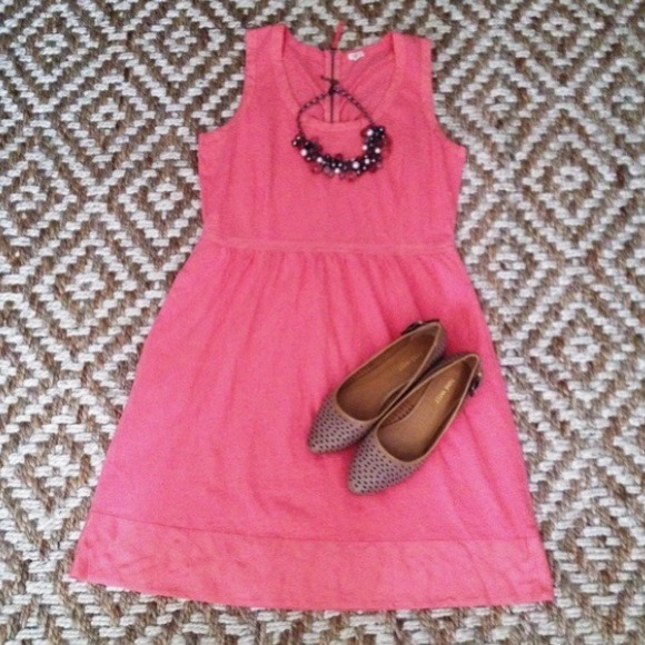 J. Crew Dresses & Skirts - 🎉HP🎉 Pink/coral J. crew summer dress 2
