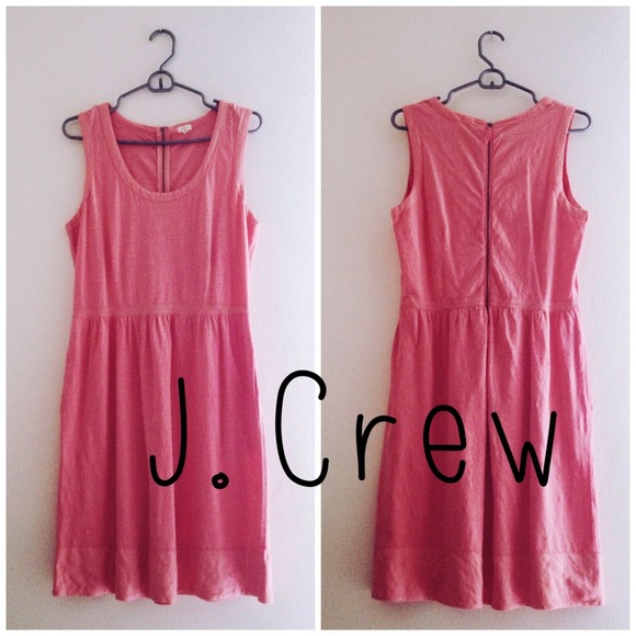 J. Crew Dresses & Skirts - 🎉HP🎉 Pink/coral J. crew summer dress