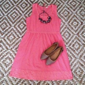 J. Crew Dresses - 🎉HP🎉 Pink/coral J. crew summer dress 2