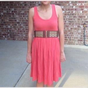 J. Crew Dresses - 🎉HP🎉 Pink/coral J. crew summer dress 3