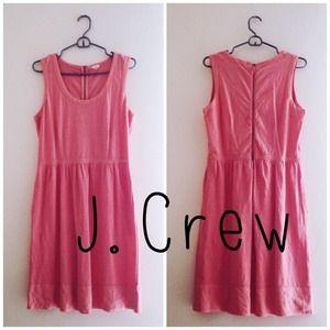 J. Crew Dresses - 🎉HP🎉 Pink/coral J. crew summer dress 1