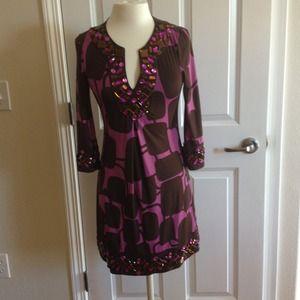 INC purple dress Xs p.  beautiful!