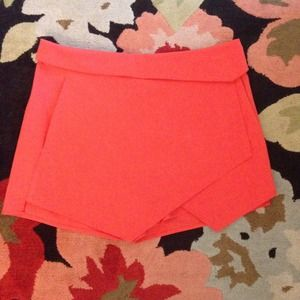 Mossimo Supply Co. Dresses & Skirts - Coral Asymmetrical Skort