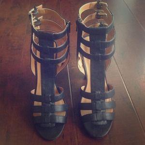 Charlotte Russe Shoes - Gladiator sandal heels