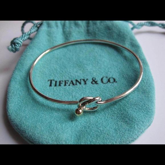 b6347da54 Tiffany & co love knot bracelet & gold 150 tip. M_539e3471b539e43f8824dfdd