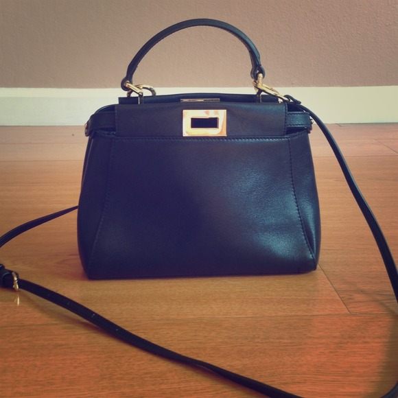 c285cbdc fendi peekaboo mini satchel
