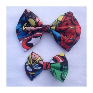 Accessories - Marvel Superhero Comic Avengers Bow