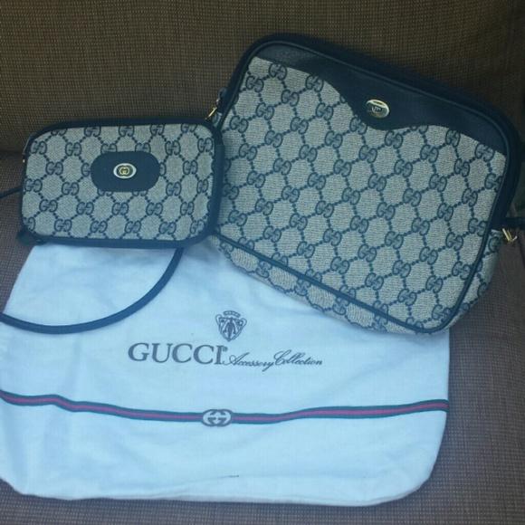 c5d7e8545fc5 Gucci Bags | Vintage Logo Crossbody Bag W Dust Bag Only | Poshmark